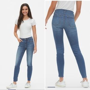 GAP Jeans - Gap High Rise Resolution True Skinny Jeans Size 29